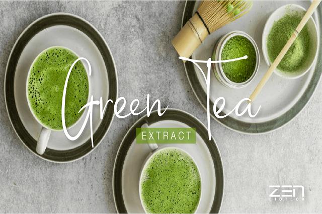น้ำตบชาเขียว