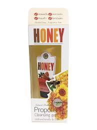เจลล้างหน้าน้ำผึ้ง