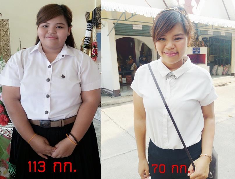 ลดน้ำหนัก 2 เดือน