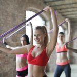 「#5 ท่าออกกำลังกาย」ด้วยยางยืดง่ายๆ เพื่อสาวๆที่อยากลดน้ำหนักและรักษาหุ่นสวย
