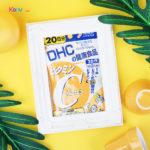วิตามินซี DHC ตัวช่วยให้ผิวสวยใส ร่างกายเเข็งเเรงห่างไกลโรคหวัด