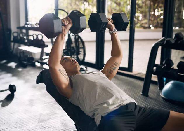 ออกกำลังกายดัมเบล