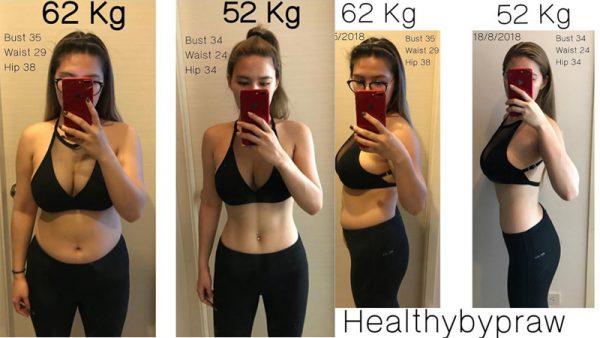 ลดน้ำหนัก 3 เดือน