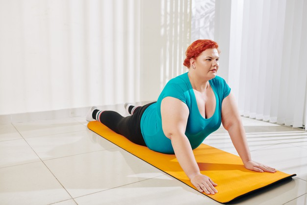 แนะนำ #6 ท่าโยคะลดอาการปวดหลัง กระชับสัดส่วน ฉบับคนอ้วน