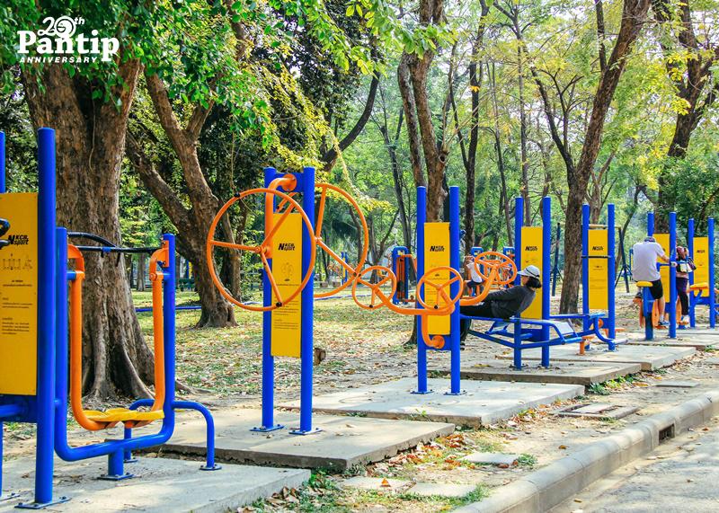 เครื่องออกกำลังกาย สวนสาธารณะ