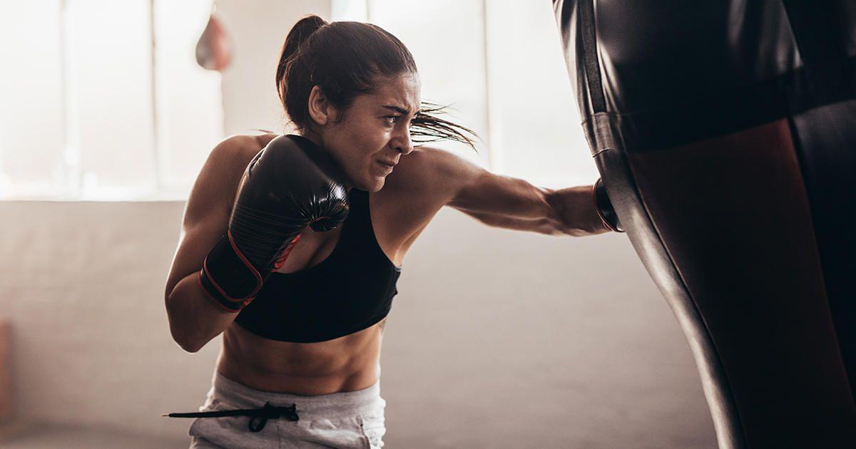 ออกกำลังกายมวยไทย