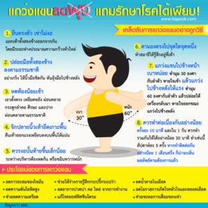 ออกกำลังกายสำหรับคนอ้วน