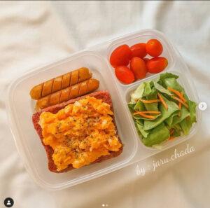 อาหารคลีนกล่อง
