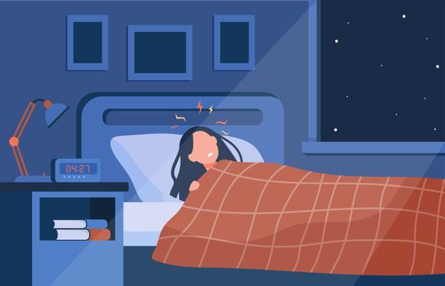 ท้อง นอน ไม่ หลับ