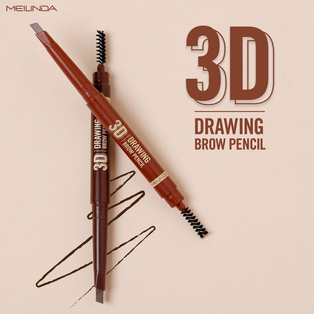 ดินสอเขียนคิ้ว 3 มิติ