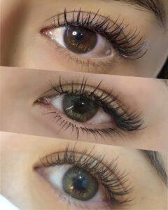 ต่อขนตาล่าง