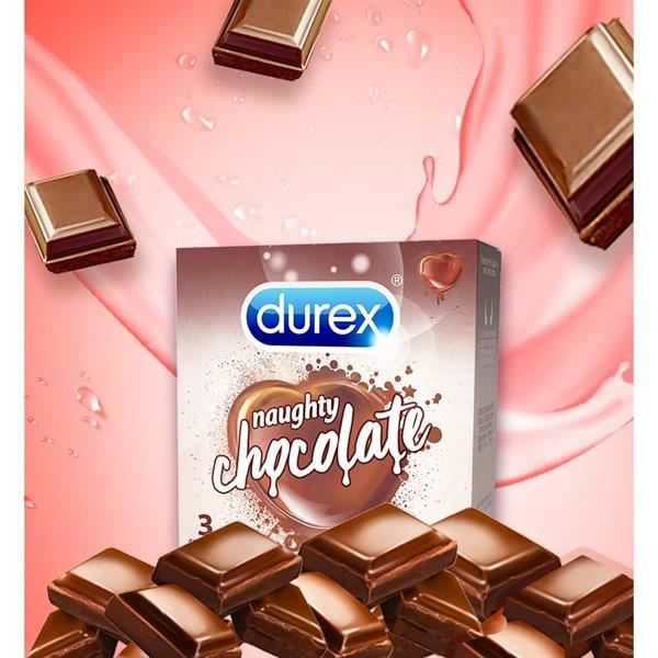 หอมหวานน่ากินทั้งคุณและถุงยางกลิ่นช็อกโกแลต ตัวท็อปความครีเอทจาก Durex ที่สาวกช็อกโก้ห้ามพลาด!!
