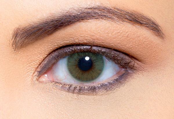 คอนแทคเลนส์ duna สี brown ii