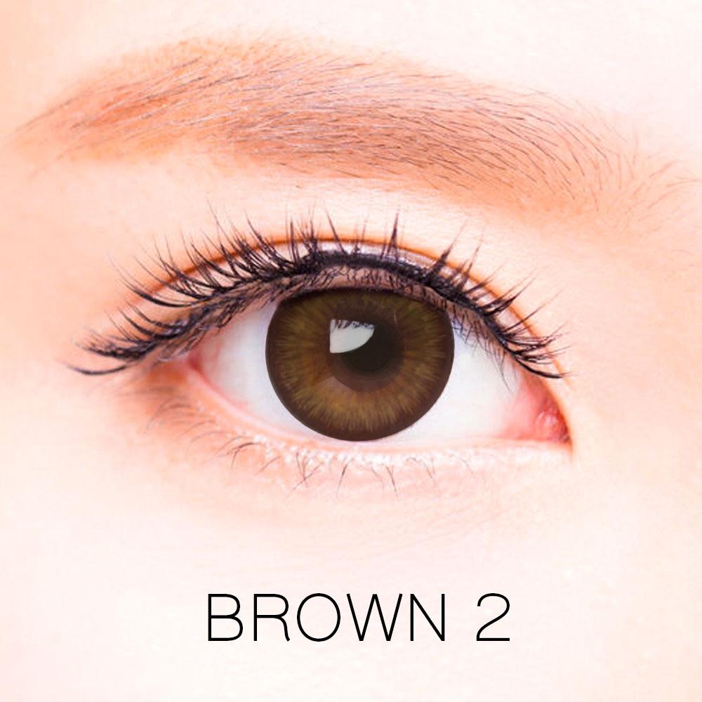 ของมันต้องมี 「คอนแทคเลนส์ duna สี brown ii」 ใครอยากตาสวยสีน้ำตาลธรรมชาติห้ามพลาด!!!